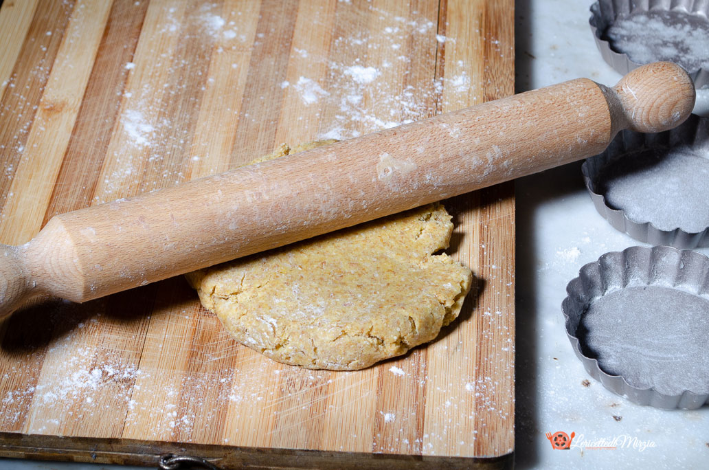 Crostatine salate ricotta zucchine e fiori di zucca - procedimento