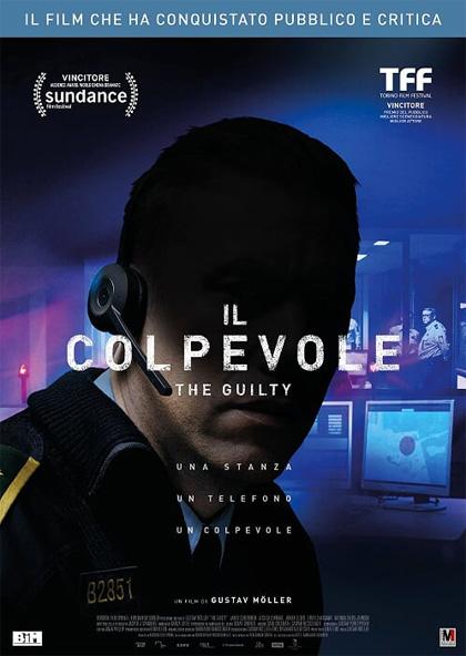 Il colpevole - the guilty - locandina