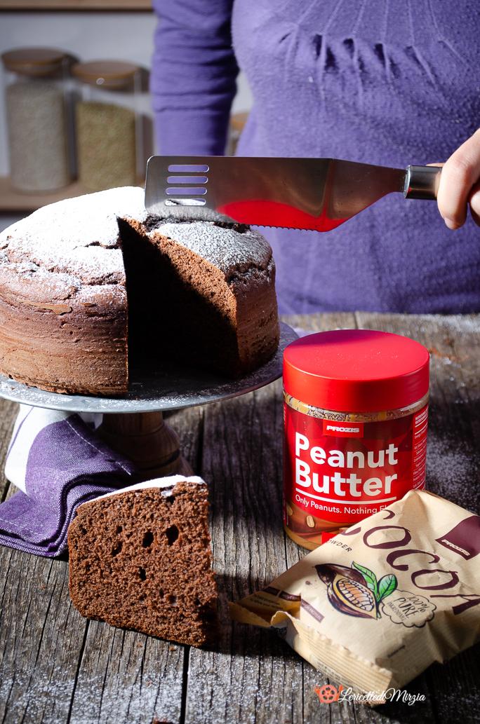 Torta al cioccolato e burro di arachidi