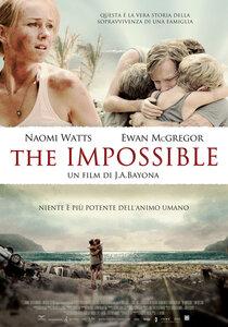 The impossible - locandina
