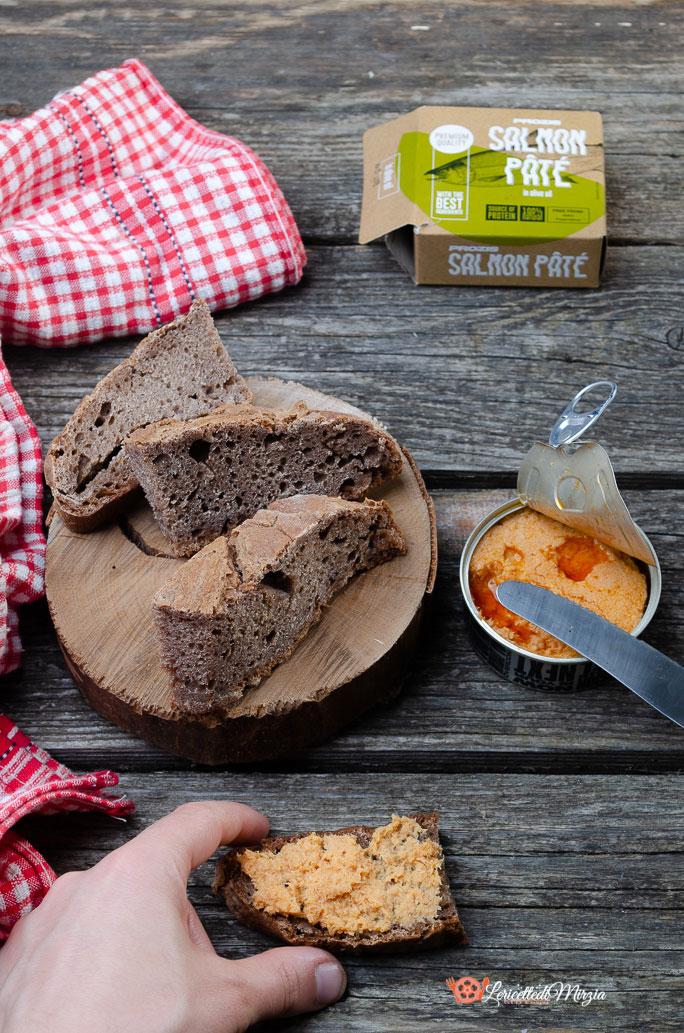 Pane con farina di teff